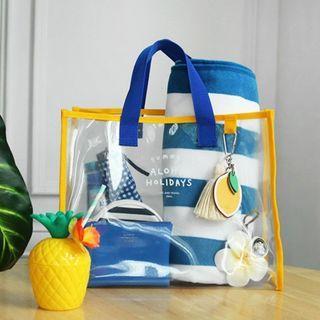 Summer Beach Tote Bag 沙灘防水透明包