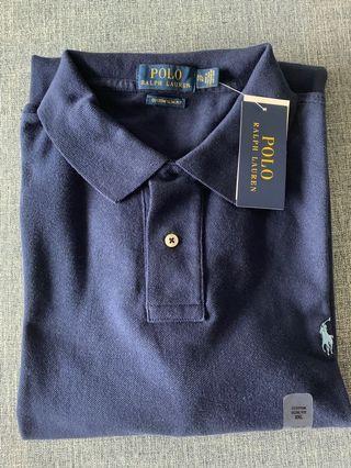 Ralph Lauren Polo Shirt - XXL Navy Blue