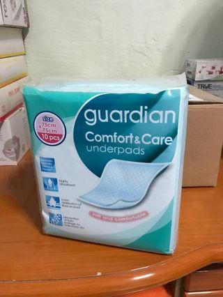 🚚 Guardian Comfort & Care Underpads