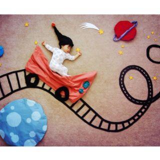 嬰兒拍照道具組 八成新