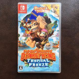 Switch - Donkey Kong 大金剛 超任 Not: 龍珠, 街霸, 薩爾達傳說, Pokémon GO