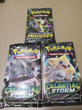 Pokemon Card Booster Pack Trading Card Game TCG