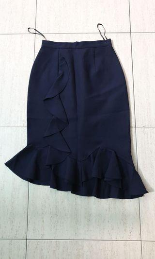 🚚 Black Trumpet Skirt