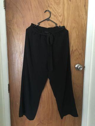Zara wide legged pants