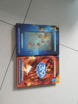 39 Clues Book 1 and 5