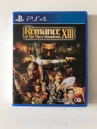 🚚 PS4 Romance Of The Three Kingdom XIII