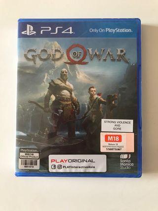 🚚 PS4 God of War