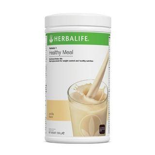 HERBALIFE NUTRITIOUS MIXED SOY PROTEIN DRINK F1 FRENCH VANILLA FLAVOUR 【100% ORIGINAL GENUINE HERBALIFE PRODUCT 】