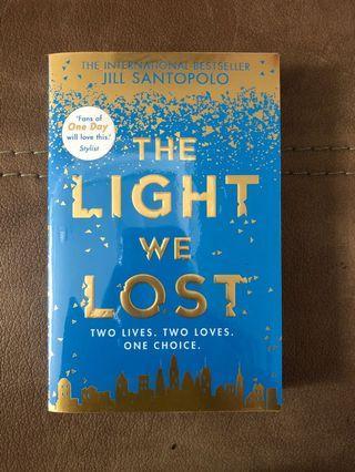 Novel the light we lost jill santopolo