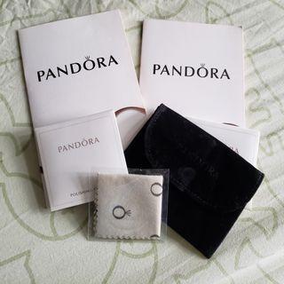 Pandora飾物袋加銀布