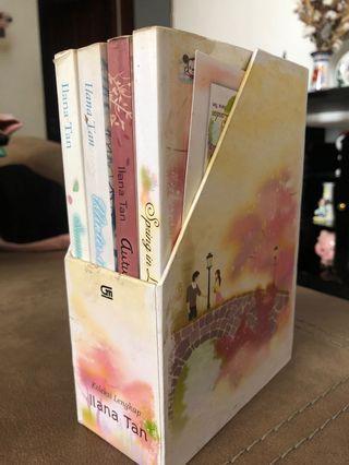 Novel Ilana Tan set