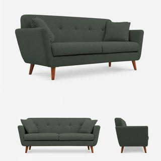 Abraham Couple 2 Seater Sofa