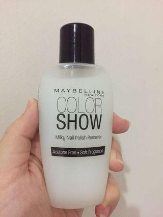 Maybelline nail polish remover