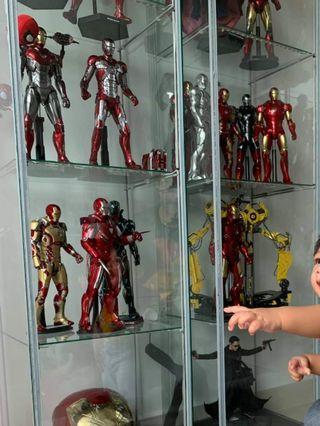 HotToys Ironman diecast 3,5,6,22,42,43,Neo