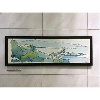 Acrylic painting on canvas — Rio de Janeiro