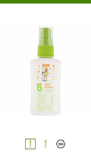 BabyGanics(蚊怕水)Natural Insect Repellent