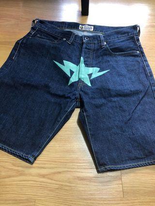 BAPE Denim Shorts
