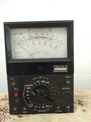 *Reduced price* Vintage Sanwa Analog Multimeter