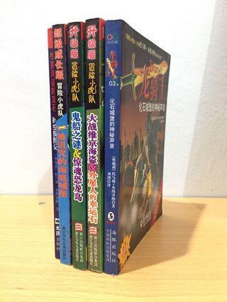 冒险小虎队+龙骑士 Chinese Novel