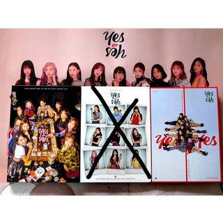 (WTB) TWICE ALBUM YES OR YES A & C version