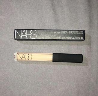 Nars Creamy Concealer in shades Vanilla and Custard