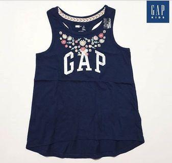 6-7Y PO BN GAP Kids Embroidered Tank Top
