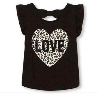 5Y PO The Children's Place LOVE Tee