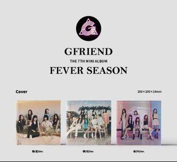 GFRIEND - Mini Album Vol.7 [FEVER SEASON]