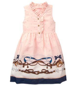 3T PO Janie & Jack Peach Dress