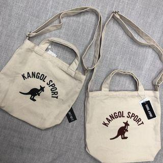 KANGOL TWO WAY TOTE BAG