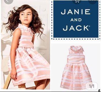 3T PO Janie & Jack Stripes Dress