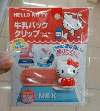 Hello Kitty drink box clip