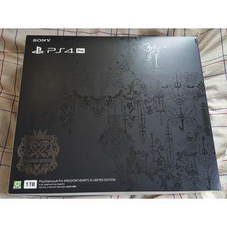 全新品PlayStation 4 Pro KINGDOM HEARTS III Limited Edition 行貨2年保連手掣(淨機不連Game)