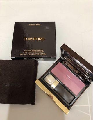 全新 Tom Ford Eye and Cheek Shadow #02 Pink Ombre