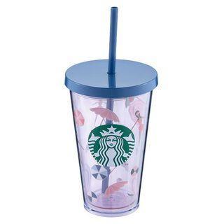 台灣 Starbucks 星巴克 pared TOGO 冷水杯 16oz