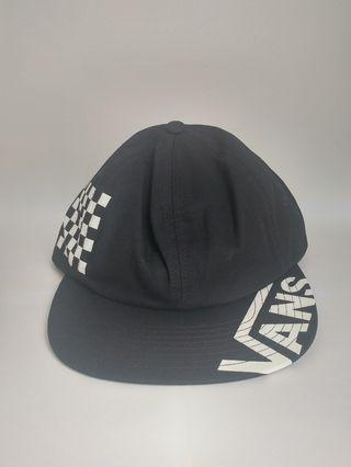 Vans Checkerboard in Black Topi/Cap Original