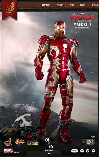 Hot Toys Iron Man Mark 43