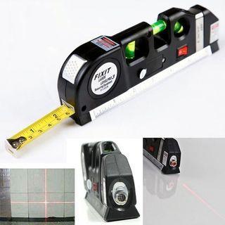 Multipurpose Laser measure Line With 8ft+ Measurement Tape