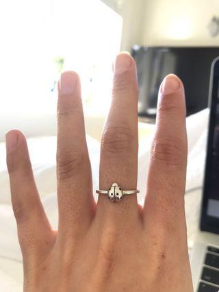Karen Walker ladybug ring