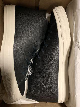 Converse all star leather hi 皮面 高筒 US11