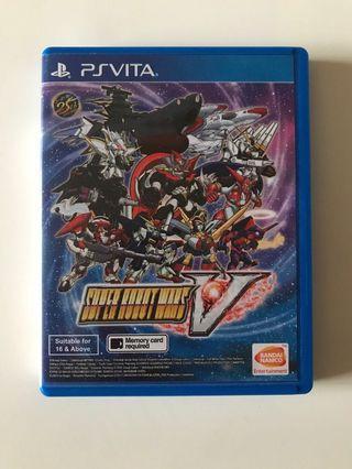 Ps Vita Super Robot Wars V