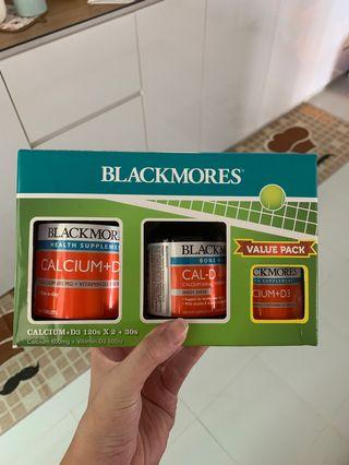 *Brand New* Blackmores Calcium + D3 Value Pack 120s + 100s + 30s