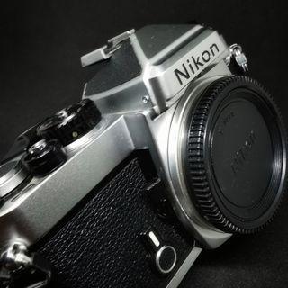 Nikon FE slr camera