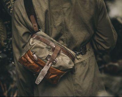 Wotancraft mini rider sling bag