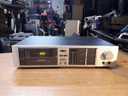 Ku pioneer kaset deck l