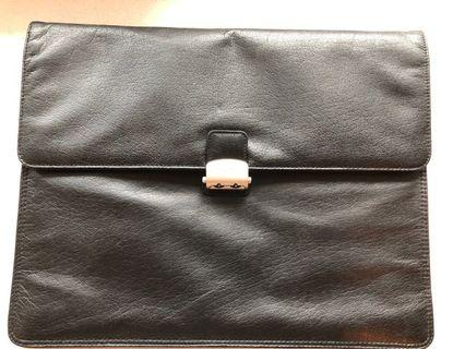 Leather Document Holder 37/29/7cm