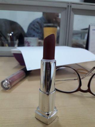 #maugopay lipstik super matte Maybeline