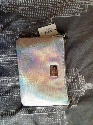 Colette Iridescent Clutch