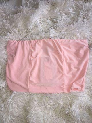 PLT baby pink bandeau