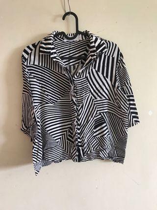 Editor's market Striped blouse